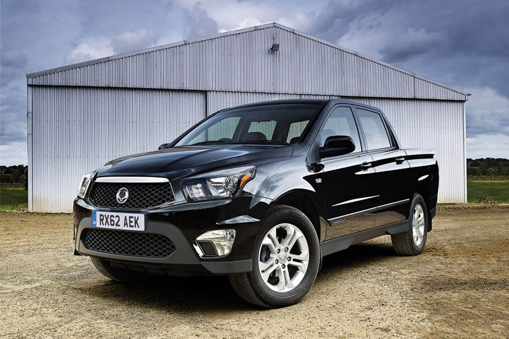Ремонт АКПП SsangYong Actyon Sports