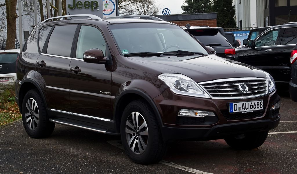 Ремонт АКПП SsangYong Musso